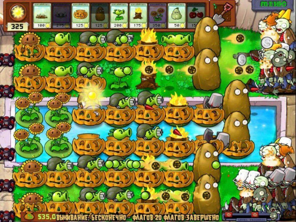 Игра растения против зомби 2 через эмулятор