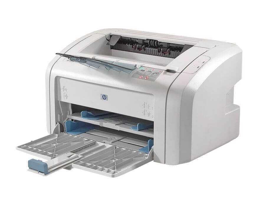 HP Laserjet 1018 вид спереди