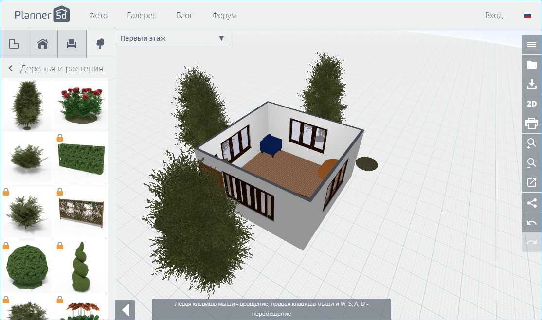 Проект в 3D