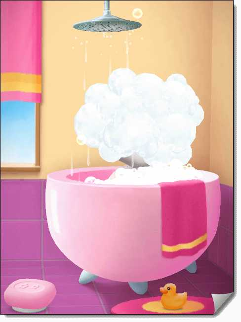 Смываем мыло