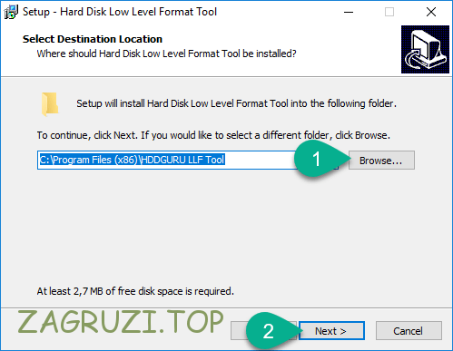 Каталог HDD Low Level Format Tool