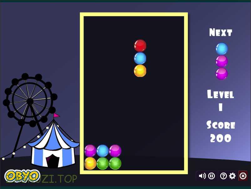 Играем в шарики-стрелялки на полном экране бесплатно и без регистрации