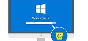 Как сбросить пароль при входе на Windows 7