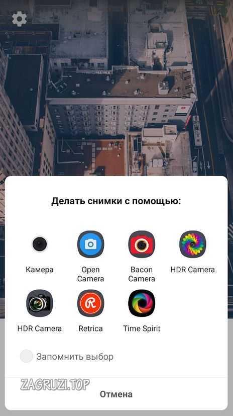 Выбор камеры для фото