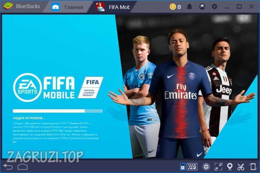 Управление в Fifa Mobile