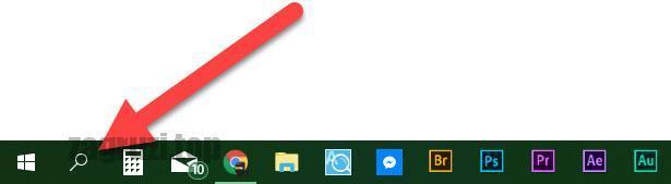 Иконка поиска Windows 10
