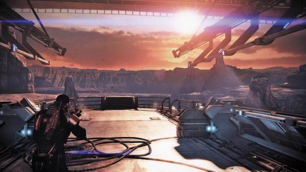 Корабль в Mass Effect