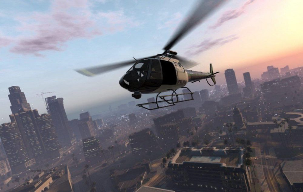 Вертолет в Grand Theft Auto 5