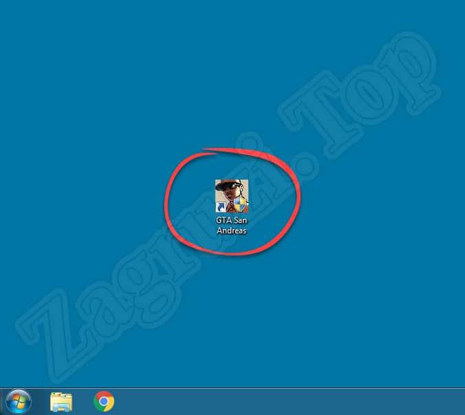 Запуск ГТА Сан Андреас из файла