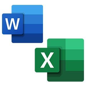 Иконка Word Excel