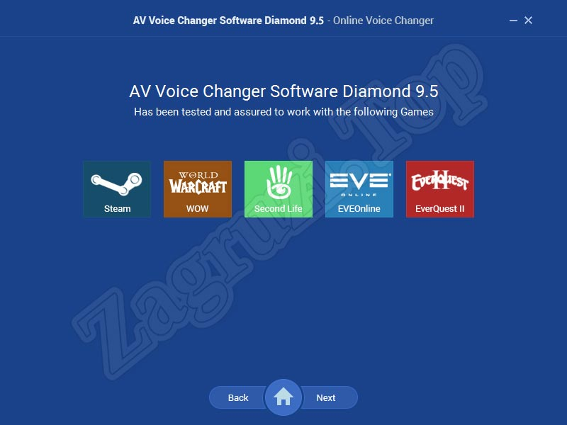 Использование программы AV Voice Changer Diamond в играх