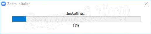 Процесс установки Zoom для Windows