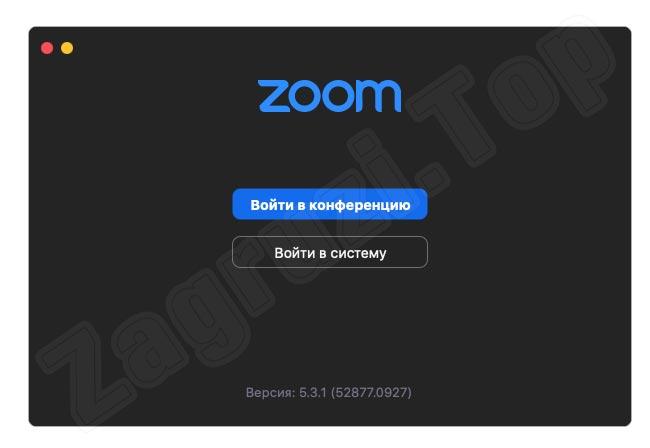 Zoom на macOS