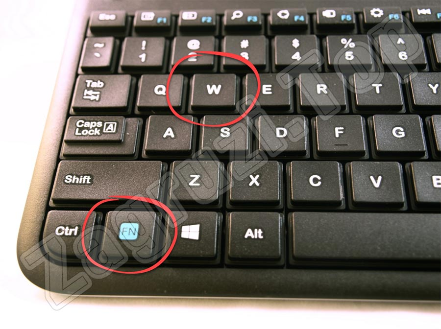 Переназначение роли кнопки FN на клавиатуре