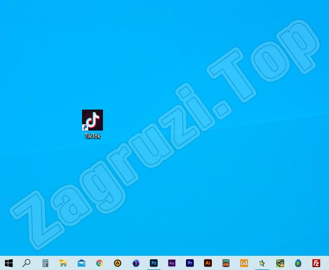 ТикТок на рабочем столе Windows