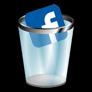 Иконка удаленного аккаунта Facebook
