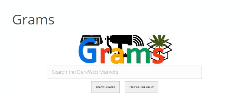 Поисковик для Tor Grams