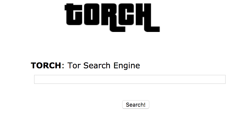 Поисковик для Tor Torch